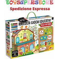 Giochi Educativi Bambini La Mia Fattoria Lisciani 72736 Life Skills