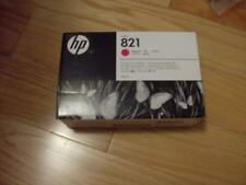 2017 GENUINE HP #821 400ml MAGENTA CARTRIDGE G0Y87A LATEX 110 FACTORY SEALED