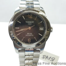 Tissot PR 50 Automatic Mens Date Stainless Steel Dress Watch