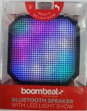 Bluetooth Speaker Boombeatz with LED Light Show- Handsfree Function Brand New