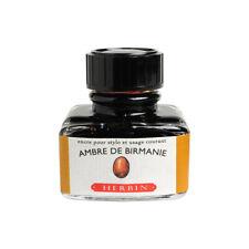 J.Herbin Fountain Pen Ink - 30ml bottle - Ambre de Birmanie