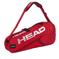HEAD Elite 3R Pro Tennis Bag Red Racquet Racket Shoulder Bag 1 Pack NWT 283458