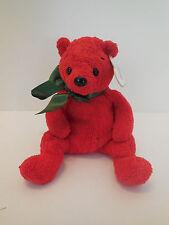 """2001 Ty Beanie Baby """"Mistletoe"""" Holiday Bear"""