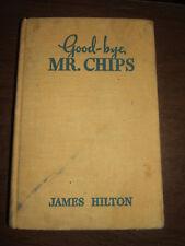 VINTAGE GOODBYE MR. CHIPS BOOK 1935 JAMES HILTON
