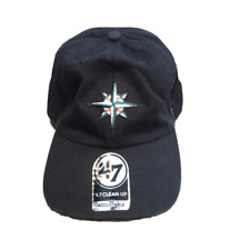 NWT New Seattle Mariners '47 Brand Clean Up Logo Adjustable Hat