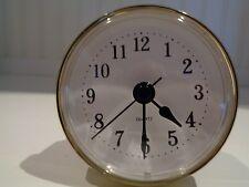 "Premium 2-1/2""(65mm)Youngtown Quartz Clock Insert, Arabic, Gold, Free Battery"