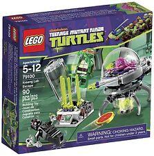 Lego Teenage Mutant Ninja Turtles TMNT 79100 KRAANG LAB ESCAPE Michaelangelo NIB