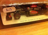 LOTUS F1 RENAULT E21 KOVALAINEN US GP  2013  SPARK 1/43 PROMO