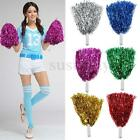 1 Pair Cheerleading Pompoms Waver Fancy Dress Costume Pom Pom Dance Accessory
