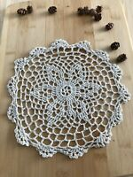 12Pcs/Lot Vintage Hand Crochet Lace Doilies Coasters Cotton 25cm Item5