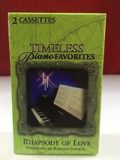 TIMELESS PIANO FAVORITES PHAPSODY  OF LOVE 2 CASSETTE TAPE BOX SET
