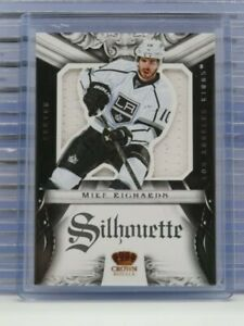 2012-13 Rookie Anthology Mike Richards Silhouette Game Used Jersey Kings G61