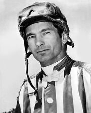 Champion Racehorse Jockey BILL WILLIE SHOEMAKER Glossy 8x10 Photo Print Poster