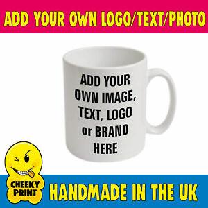 Company Business LOGO Branded Promotional Gift Printed Mug,- Best Value on EBay