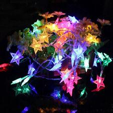 USB 20LED Star Fairy String Light Garland Lighting Lamp Home Xmas Party Decor BT