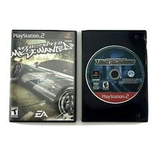 Need For Speed PS2 Playstation 2 Bundle Most Wanted & Carbon