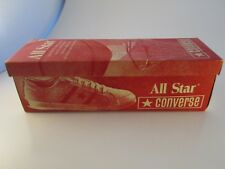 Vintage 1970s Converse Shoe BOX ONLY for ALL STAR Black Ox