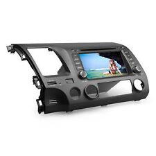 "7"" In Dash Car DVD Player GPS Navigation Radio Stereo BT For Honda CIVIC 2006-11"
