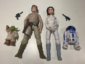 Star Wars Forces Of Destiny, Princess Leia Organa & R2-D2, Luke & Yoda