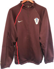 Nike Men's Size L Croatia Soccer Maroon Tracksuit