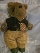 vintage wellie bear gang handmade scottish teady bear