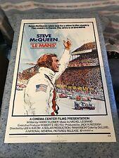 "Le Mans 1971 Original 1 Sheet Movie Poster Steve McQueen 27"" x 41"" (VG/F)"