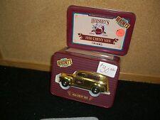 1/43 ERTL 1950 Chevy van for Hershey's in Gold, in Tin