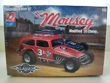 """Amt / Ertl - """"Mousey"""" - '35 Chevy Dirt Modified Race Car - Model Kit (Sealed)"""