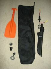 Overton's Telescoping Paddle, Power Sockets, Gerber Machete with Sheath