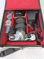 Pentax Me Super Spiegelreflexkamera mit reichlich Zubehör - wie neu - im Koffer