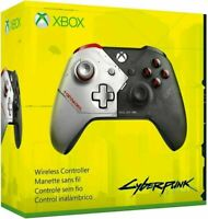 Microsoft Cyberpunk 2077 Xbox Wireless Controller WL300141  NEW OPEN BOX