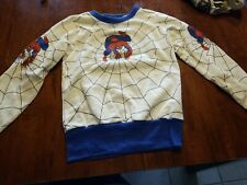 1985 Spiderman Youth Sweater New Tags size 10/12 RETRO VINTAGE Marvel Kids RARE