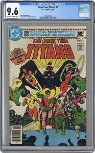 New Teen Titans #1 CGC 9.6 1980 3765454010