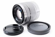 """Sony E Mount 18-55mm f/3.5-5.6 OSS Lens SEL1855 Silver """"Excellent+"""" From Japan"""