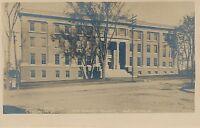 BURLINGTON VT – New Medical College Real Photo Postcard rppc – udb (pre 1908)
