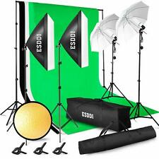 Softbox Dauerlicht Studioleuchte, ESDDI Softboxen 2er Set