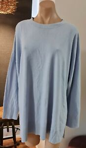 BELLE CURVE - Baby Blue Knit Jumper - Size 24