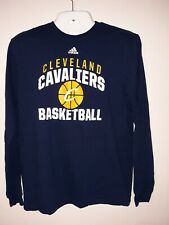 Cleveland Cavaliers Adidas NBA  women's Long Sleeve Large T-Shirt NWOT (A5)