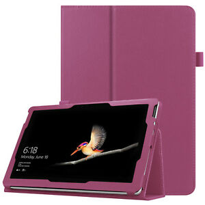 """Premium Leather Stand Case Cover For New Microsoft Surface Go 10"""" Tablet 2018"""