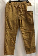 Falls Creek Twill Jogger Pants Tobacco Brown Size 6/7 Boys