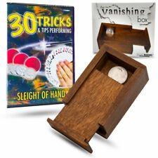 Vanishing Box & 30 Tricks and Tips Sleight of Hand Combo
