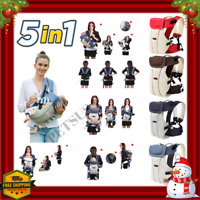Ergonomic 360 Baby Carrier Backpack Hiking Newborn Kangaroo Bag Infant Hip Seat