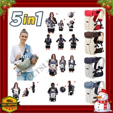 Ergonomic 360 Baby Carrier Backpack Hiking Newborn Kangaroo Bag Infant Hip Seat