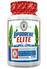 Hi-Tech Lipodrene Elite with Coca Leaves For Weight Loss Energy & Mood!
