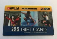 2000 dollar gift card IFLY, Flowrider, iROCK @ Soloman Center In Ogden Utah CR2