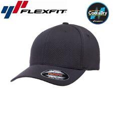 Flexfit Cool and Dry 3D Hexagon Jersey Baseball Cap L/XL Schwarz
