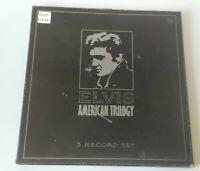 "ELVIS PRESLEY AMERICAN TRILOGY 1955 -1974 12"" VINYL LP 3 x ALBUM BOXSET imperial"