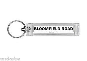 Blackpool Bloomfield Road Street Sign / Keyring / Football Fc