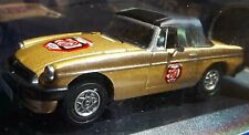 50 MG MGB Anniversary Commemorating 50 YEARS OF THE MGB 1:43 IN DISPLAY CASE MGB