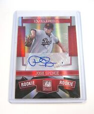 2010 Donruss Elite Extra Edition Josh Spence Auto Rookie Card RC #1/699 1st Card